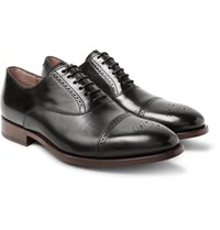 Paul Smith Berty Polished Leather Oxford Brogues Black