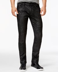 Guess Tapered Moto Slim Fit Jeans Desert
