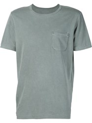 Outerknown Chest Pocket T Shirt Green