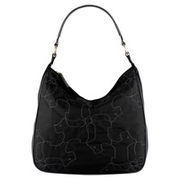 Radley In Stitches Large Hobo Bag Black