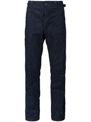 Engineered Garments 'Ground' Loose Fit Trousers Blue