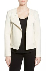 Women's Cupcakes And Cashmere 'Cheyenne' Waffle Asymmetrical Zip Jacket