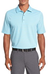 Men's Bobby Jones 'Xh20 Pencil Stripe' Regular Fit Four Way Stretch Golf Polo Pool