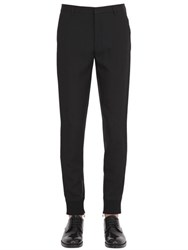 Lanvin 16Cm Viscose And Wool Gabardine Pants