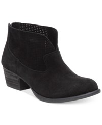 Jessica Simpson Dacia Perforated Booties Women's Shoes Black