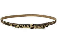 Kate Spade 5 8 Haircalf Bow Belt Natural Leopard Women's Belts Multi