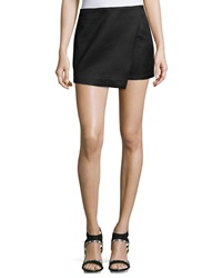 Romeo And Juliet Couture Woven Jacquard Skort Black