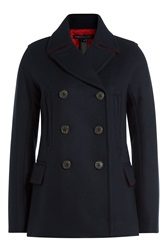Marc By Marc Jacobs Wool Jacket Blue