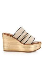 See By Chloe Bamboo Wedge Sandals