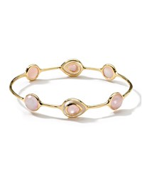 Ippolita 18K Rock Candy Ondine Quartz And Pink Mother Of Pearl Doublet Bangle Women's