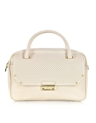 Class Roberto Cavalli City Glam Light Pink Medium Bowling Bag Powder Pink