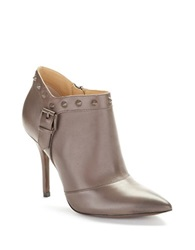 Enzo Angiolini Presly Stiletto Heeled Ankle Boots Taupe