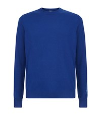 Paul Smith London Crew Neck Cashmere Sweater Male Blue