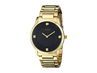 Guess U0428g1 Gold Black Diamond Watches