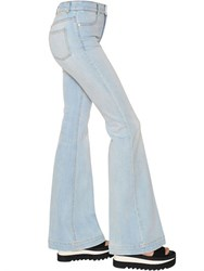 Stella Mccartney Flared Cotton Denim Jeans