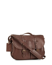 Polo Ralph Lauren Core Leather Messenger Satchel