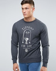 Element For Life Sweat Jumper Grey
