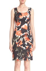 Lafayette 148 New York Women's 'Rebecca' Floral Print Sheath Dress