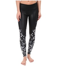 Alo Yoga Gypset Airbrush Leggings White Butterfly Women's Casual Pants