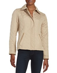 Weatherproof Quilted Jacket Oatmeal