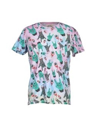 Worn By T Shirts Pink