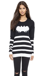 Zoe Karssen Bat Sweater Pirate Black