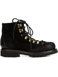 Buttero 'Canalone' Lace Up Boots Black