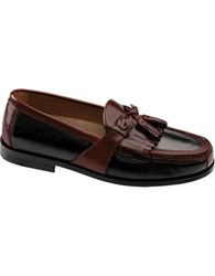 Johnston And Murphy Aragon Ii Deerskin Tassel Loafers Smart Value Black Brown