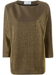Gianluca Capannolo Loose Fit Sweater Metallic