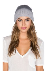 Michael Stars Softest Ombre Slouch Beanie Black