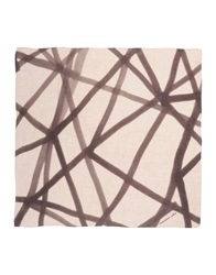 Massimo Alba Square Scarves Dark Brown