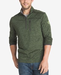 G.H. Bass And Co. Men's Big And Tall Performance Pullover Cypress Heather