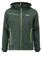 Regatta Hewitts Ii Soft Shell Jacket Dark Spruce Dark Green