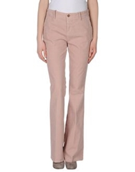 Closed Casual Pants Pink
