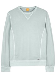 Boss Wheelo Light Grey Cotton Sweatshirt