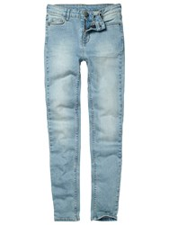 Fat Face Superskinny Denim Jeans New Pale