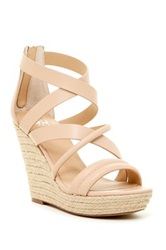 Joe's Jeans Robina Wedge Sandal Beige