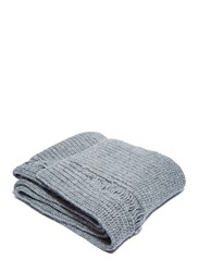 J.W.Anderson Long Laddered Knit Scarf Grey