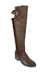 Summit By White Mountain 'Lizzie' Over The Knee Boot Women T.Moro Nubuck Leather