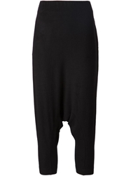 Forme D'expression Drop Crotch Cropped Trousers