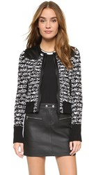 Rag And Bone Viola Sweater Jacket Black