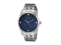 Guess U0538g1 Silver Blue Watches