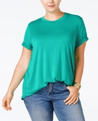 Stoosh Plus Size Basic T Shirt