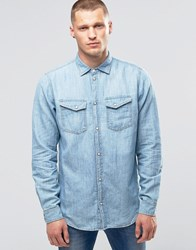 Pepe Jeans Hammond Denim Shirt Z31 Used Chambray Used Chambray Blue