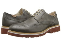 Pikolinos Glasgow 05M 6222 Dark Grey Men's Lace Up Wing Tip Shoes Gray