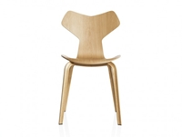 Buy The Fritz Hansen Grand Prix Chair Wooden Legs Online At Nest.Co.Uk