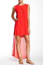 Evil Twin Grow Up Maxi Dress Red