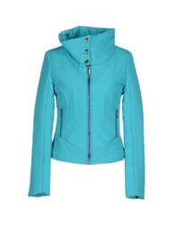 Versus Jackets Turquoise
