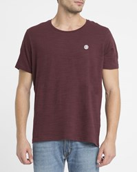 Element Red Emmett Basic T Shirt
