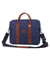 Faguo Blue Fratelli Laptop Nylon Leather Bag